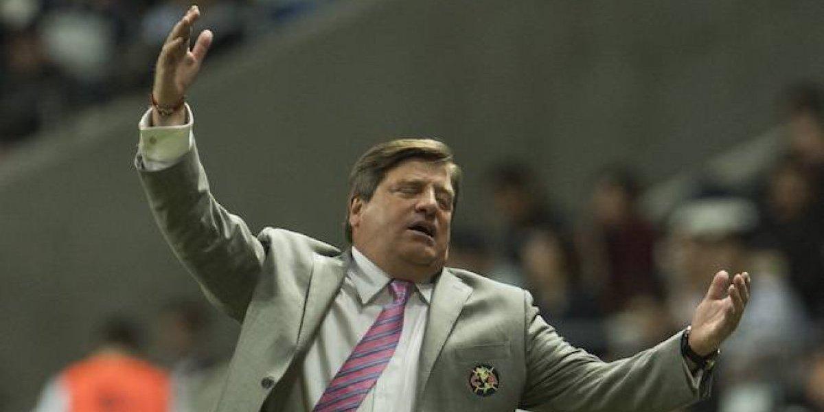 América sancionará a Herrera por seña obscena a aficionado