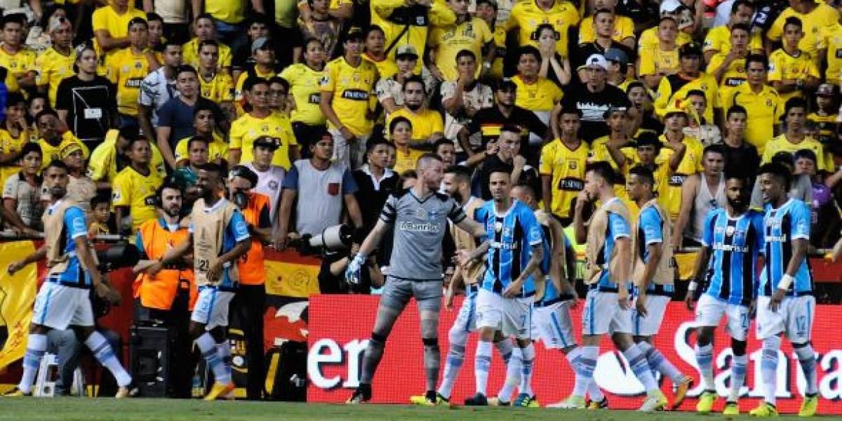 Gremio empató con Avaí antes de medir a Barcelona SC