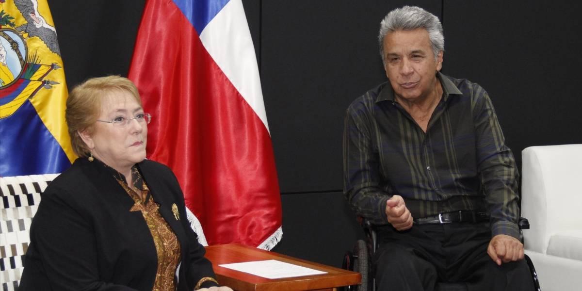 Ecuador y Chile firman acuerdos de cooperación en cumbre de Galápagos