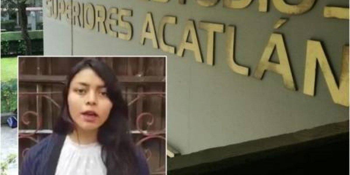 Denuncia de acoso en FES Acatlán fue un experimento