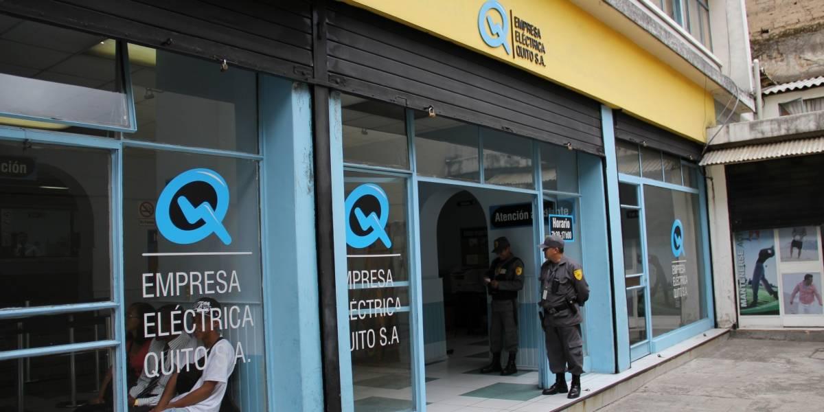Planilla de luz no se podrá pagar durante 5 días en Quito