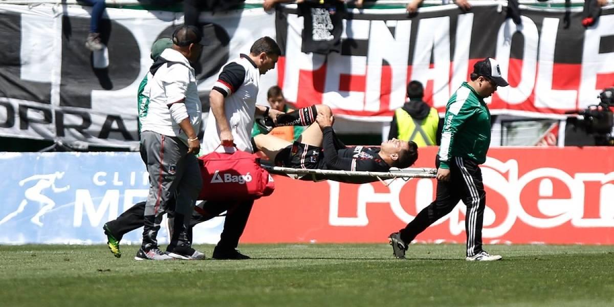 Los problemas no paran: Colo Colo pierde a Fernando Meza por todo el Transición