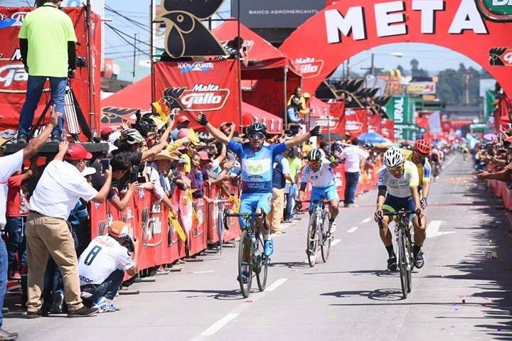 Byron Guamá gana su segunda etapa en la Vuelta a Guatemala