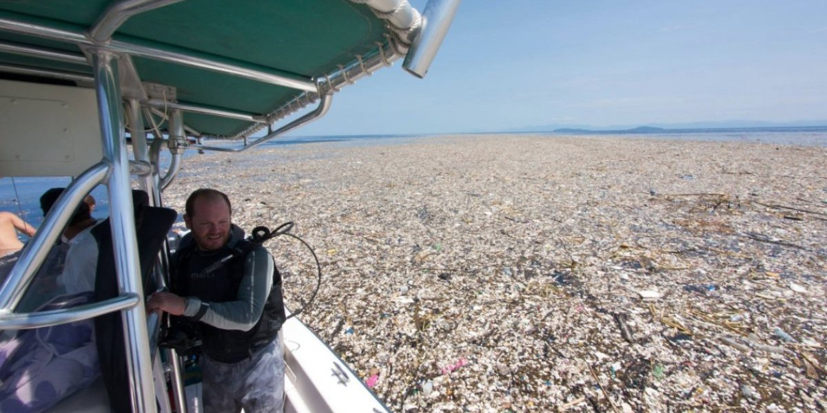 Las impresionantes fotografías que muestran por qué reciclar es tan importante