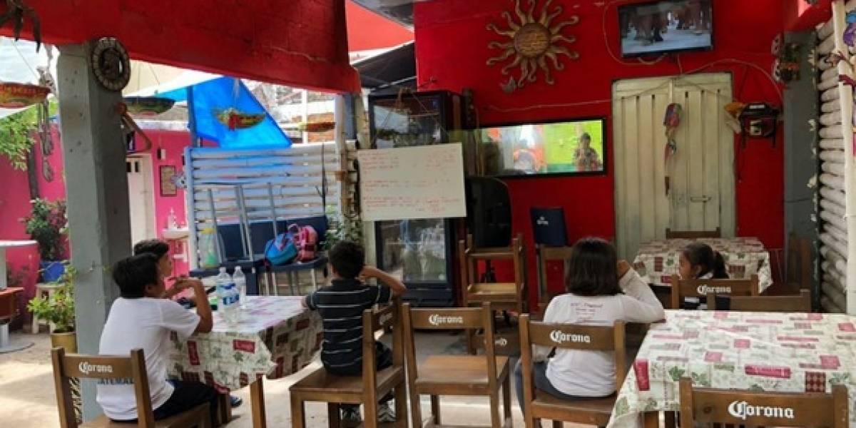 El restaurante que se transformó en escuela en Juchitán tras sismos
