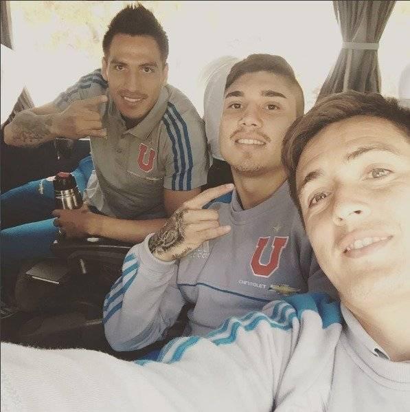 Los actuales argentinos de la U comparten muchos momentos en torno al sentimiento azul / instagram