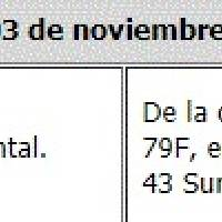 Cortes de agua 30 de octubre