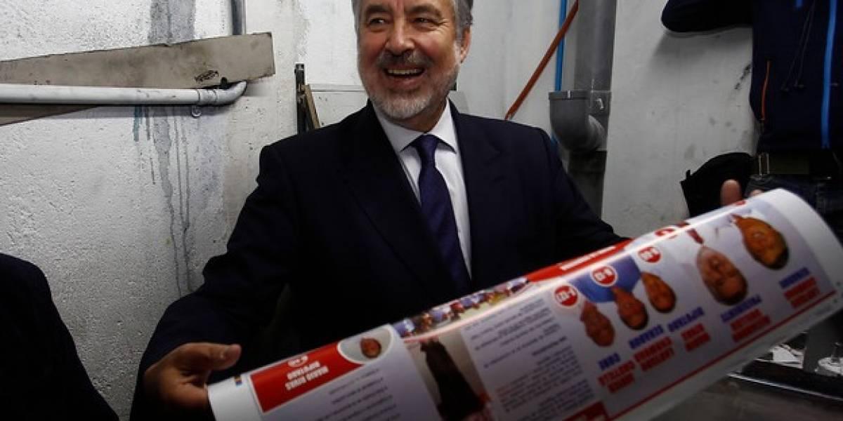 """Guillier anuncia """"perdonazo"""" de multas e intereses para pymes deudoras del SII"""