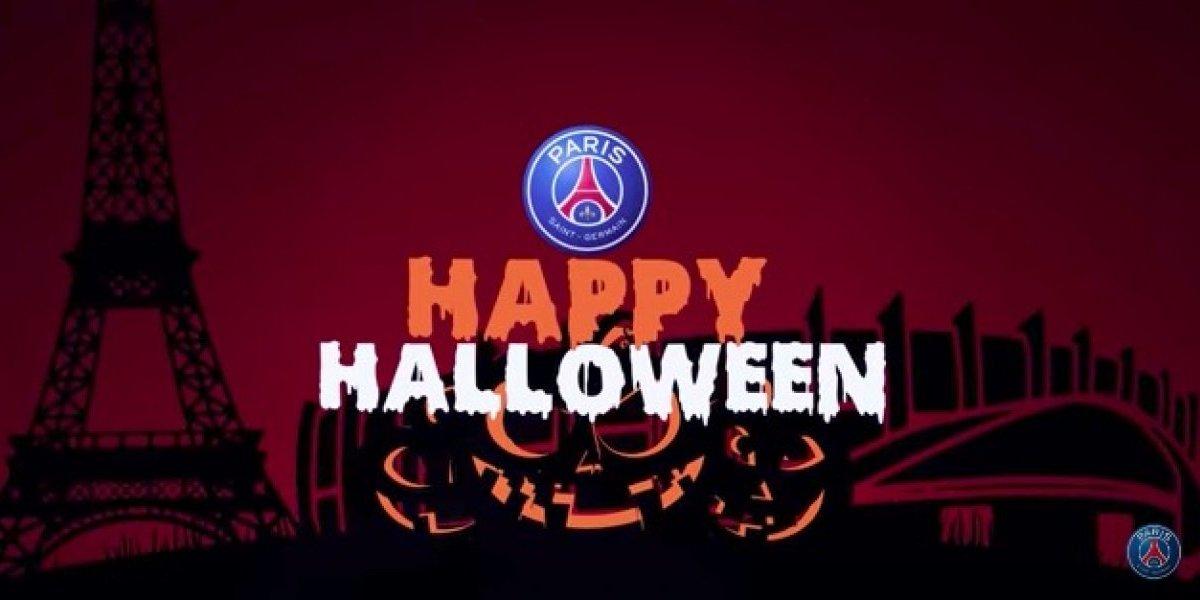 VIDEO: PSG asusta a sus jugadores por motivo de Halloween