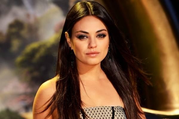 Mila Kunis cortes de cabello cara redonda