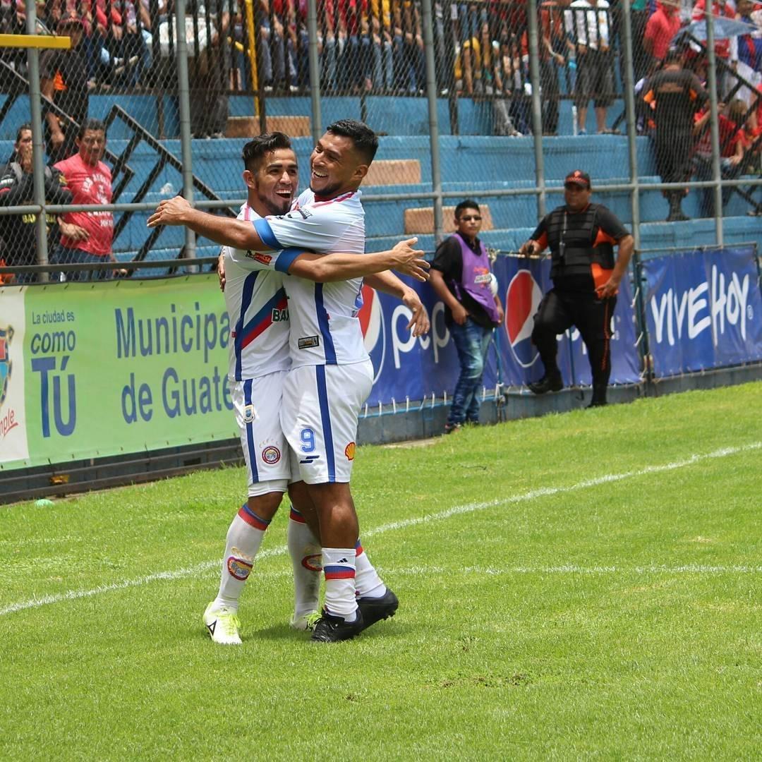 César Morales, el goleador de Xela