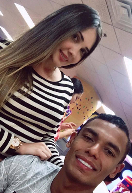 La esposa de William Tesillo, jugador del Santa Fe, es Daniela Mejía. Instagram
