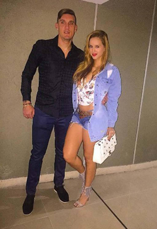 Daniela Rendón es la esposa de Franco Armani, arquero del Atlético Nacional. Instagram