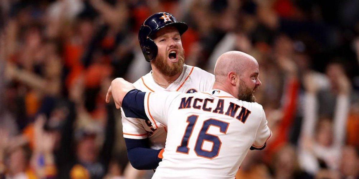 Astros están a un juego de ganar la Serie Mundial