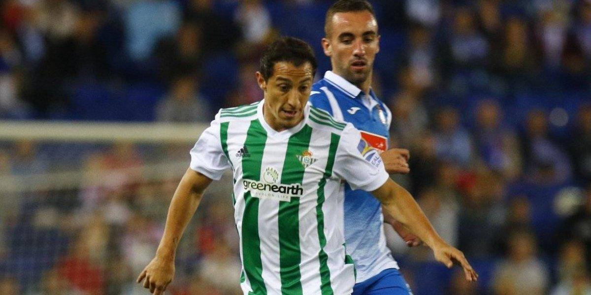 Guardado y Betis caen en la Liga española