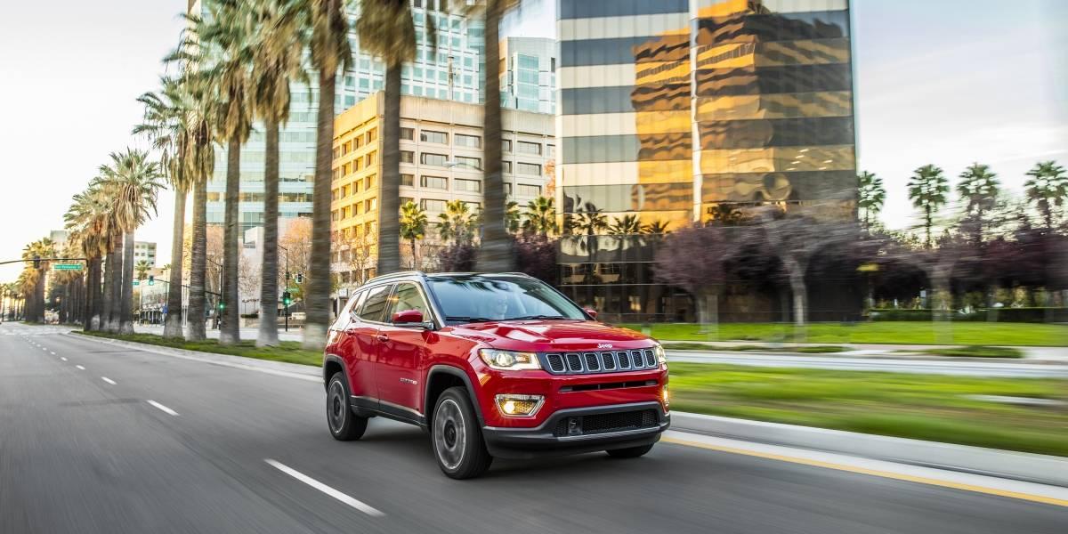 Reconocen a la Jeep Compass por su seguridad