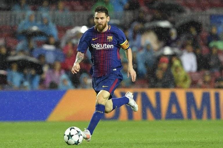Messi, goleador del Barsa en la Champions