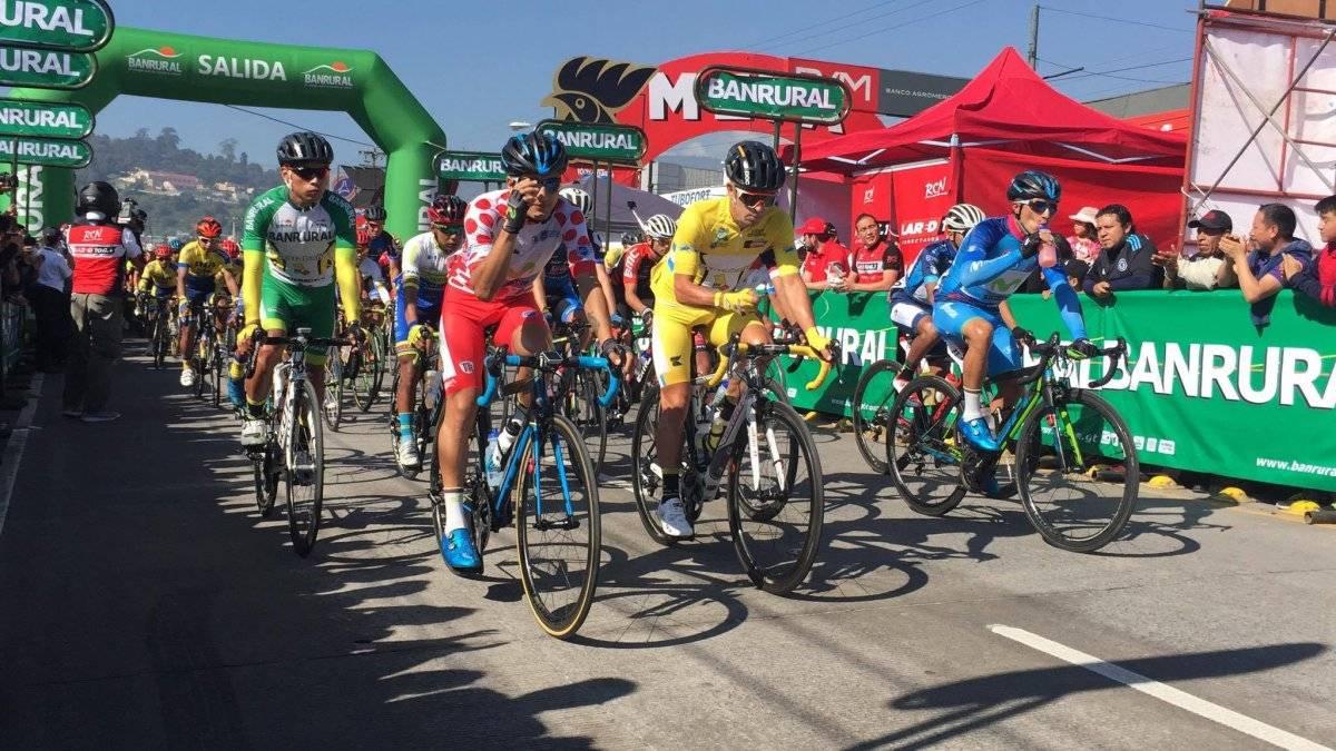 Rodas se consagra campeón en la Vuelta a Guatemala