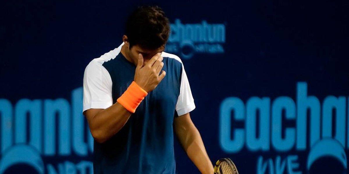 Christian Garín sufrió brusco descenso en el ranking ATP
