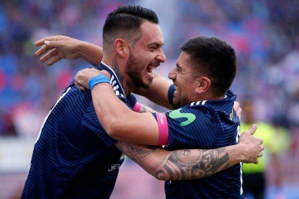 La U está festejando en el torneo nacional y la Copa Chile / imagen: Photosport