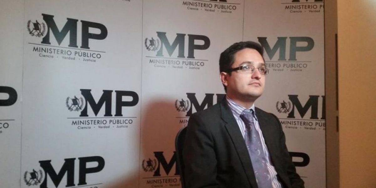 Fiscal Juan Francisco Sandoval confirma que obtuvo un ascenso dentro del Ministerio Público