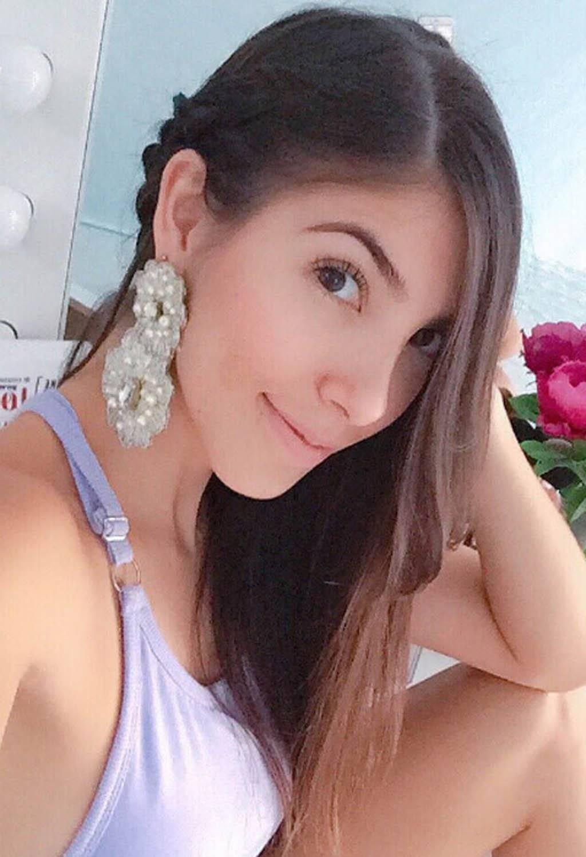 Sara Correa es la esposa de Sebastián Viera, arquero del Junior de Barranquilla. Instagram
