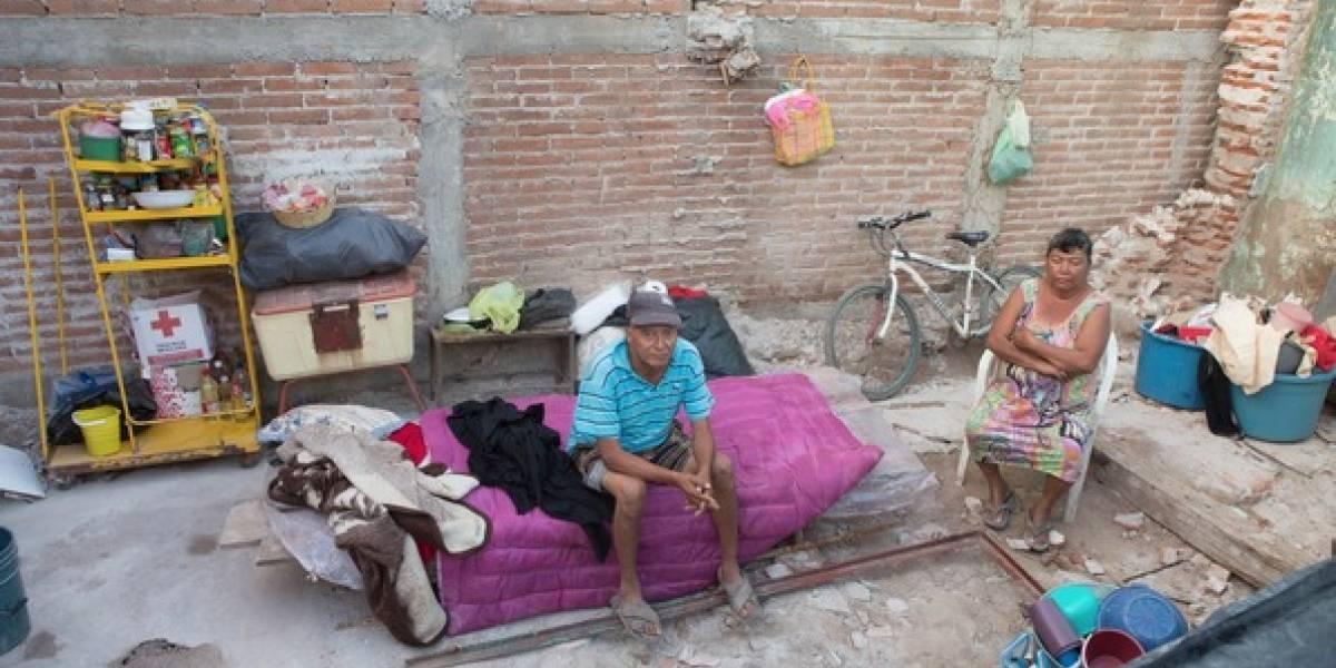 Justicia y no caridad para damnificados del sismo