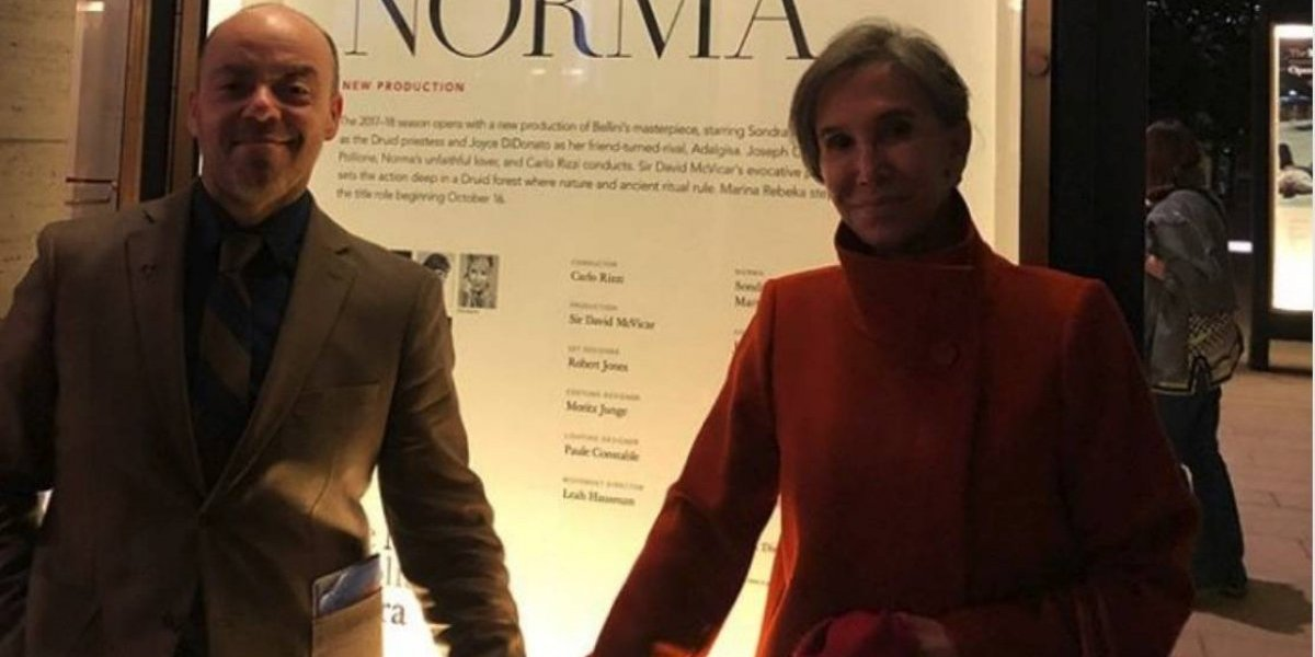 Florinda Meza revela quién es el hombre de su polémica foto