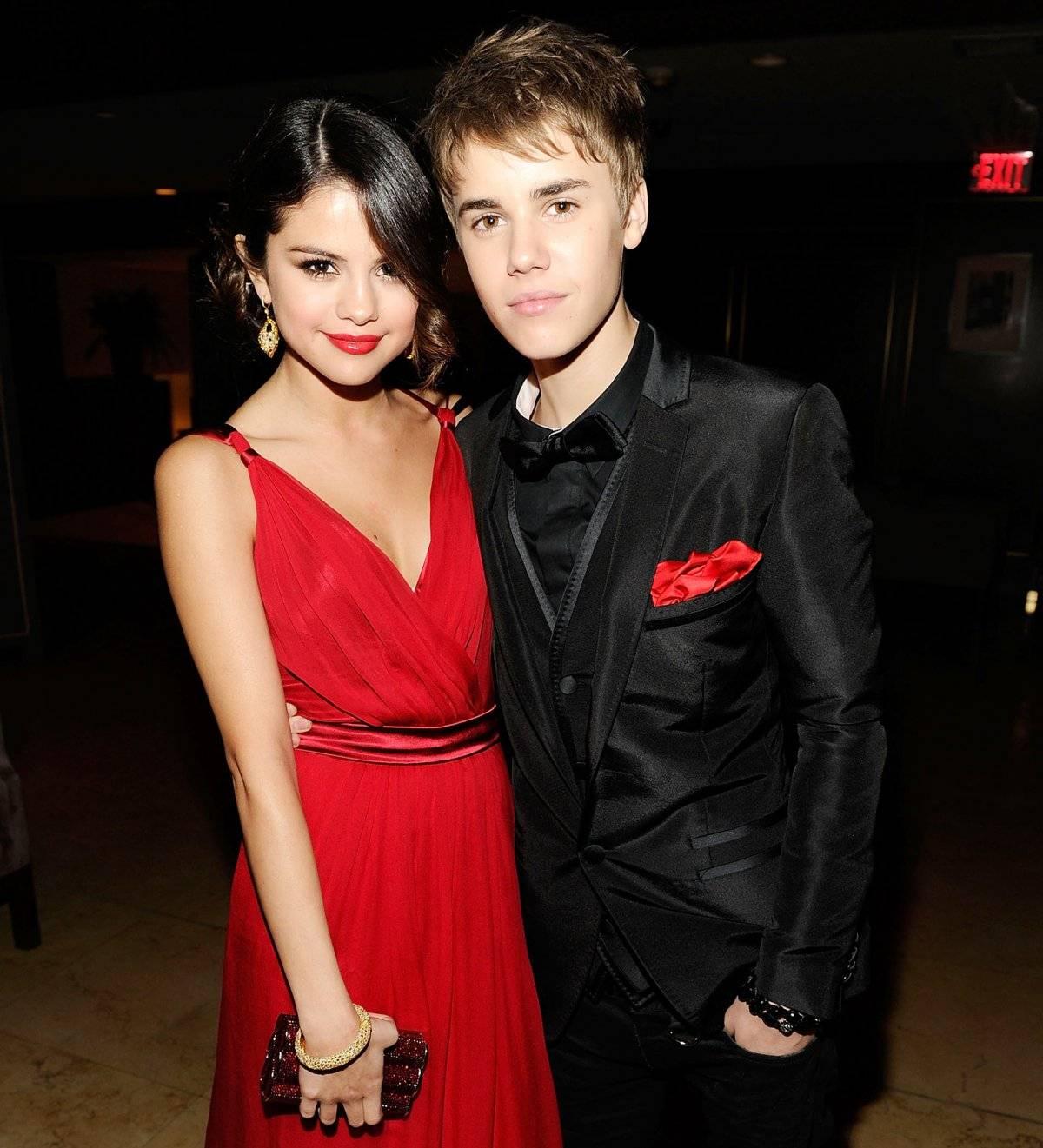 Selena y Juatin.