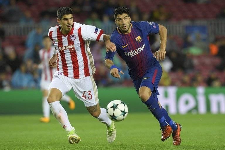 Luis Suárez, delantero del FC Barcelona