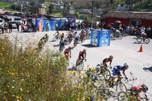Los pedalistas en búsqueda de la meta