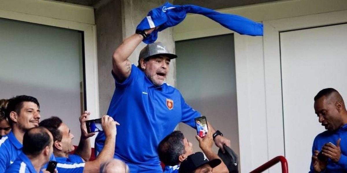 """Diego Maradona otra vez le pegó con todo a Jorge Sampaoli: """"A mí los vendehúmos nunca me gustaron"""""""