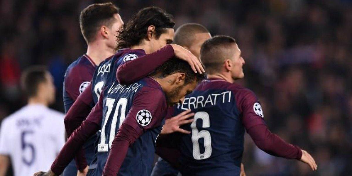 PSG sigue intratable en la Champions y Atlético de Madrid quedó al borde de la eliminación