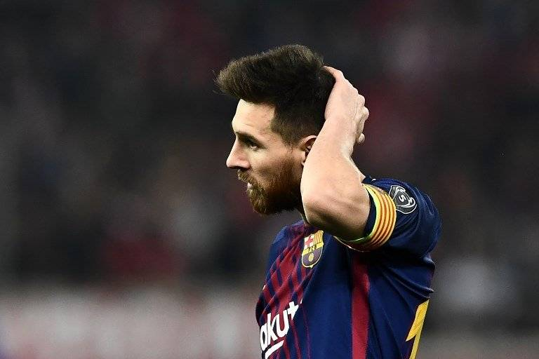 Lionel Messi se encontró con un inspirado arquero local / imagen: AFP