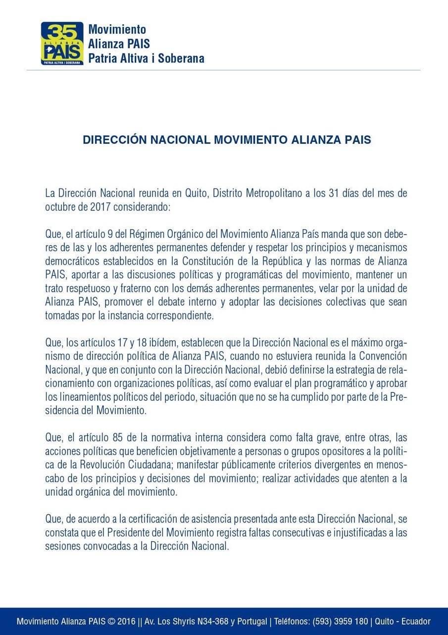 Alianza PAIS/Lenín Moreno