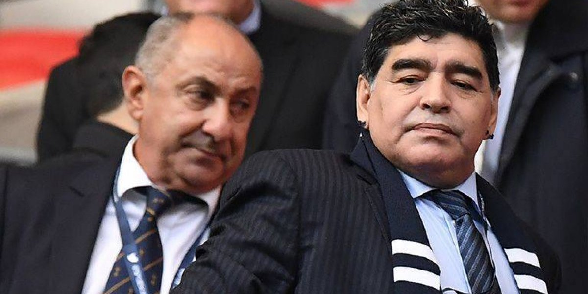 Maradona llama falso y mediocre al seleccionador de Argentina