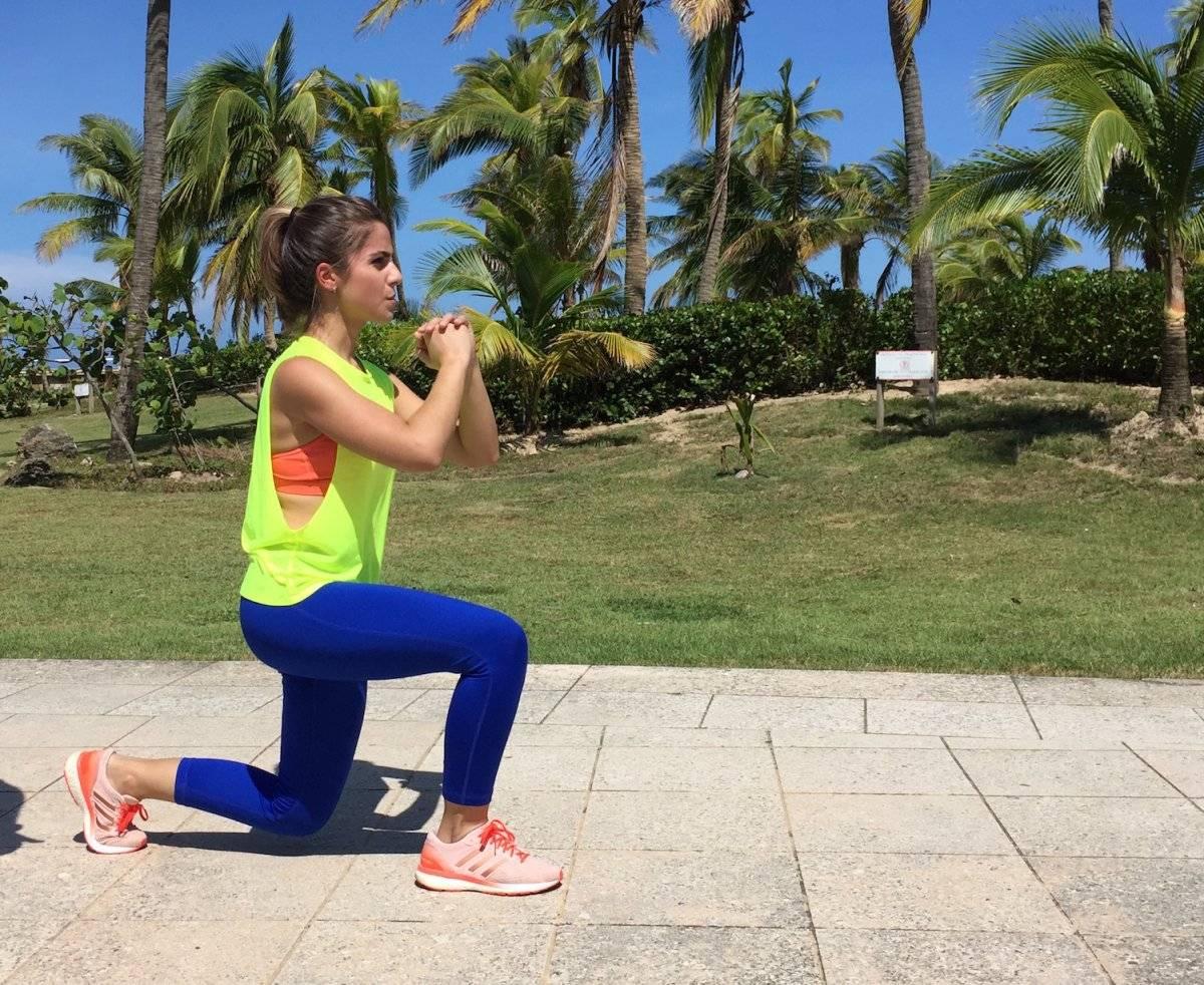 Los split squat son idóneos para fortalecer las piernas. Foto: David Cordero Mercado