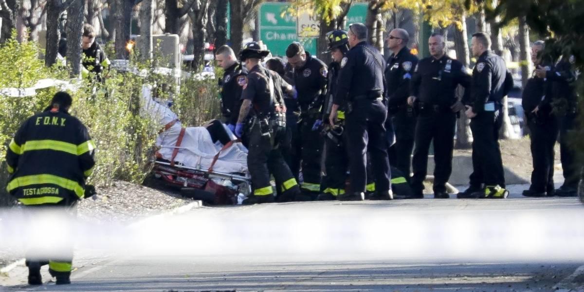 Autoridades confirman que atentado en Nueva York causó ocho muertos