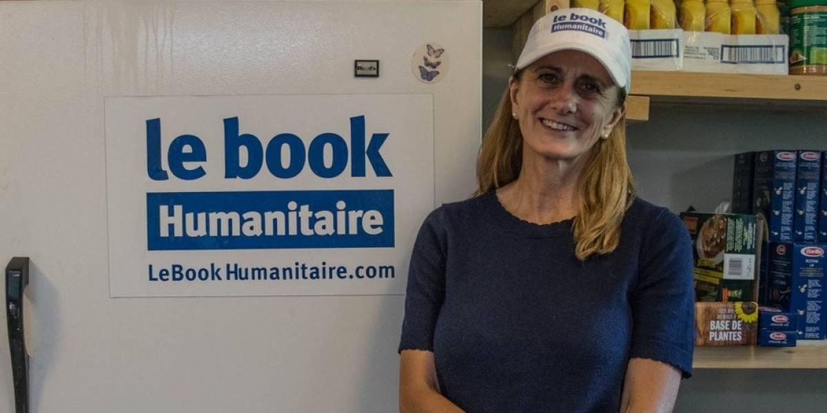 Rachel Lapierre, la mujer que ganó un sueldo de por vida en la lotería y lo usa en ayudar a los demás con su ONG Le Book Humanitarie