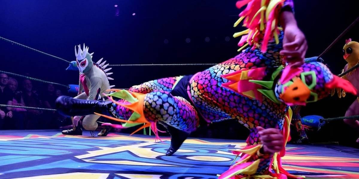 Lucha VaVOOM, el provocador y extravagante espectáculo que combina la lucha libre mexicana con el cabaret y triunfa en Los Ángeles