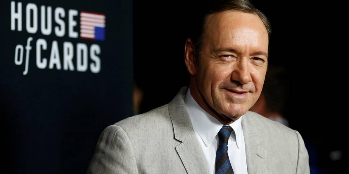 """Netflix suspende indefinidamente la producción de """"House of Cards"""" en medio de la acusación de acoso sexual contra el protagonista de la serie, Kevin Spacey"""