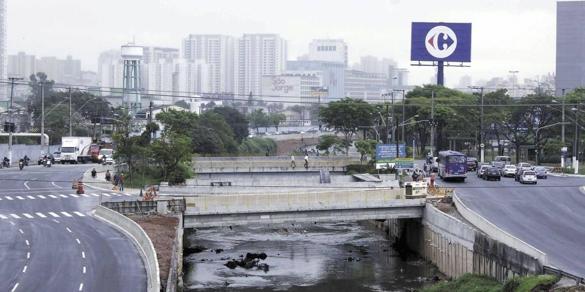 Av. dos Estados, em Santo André, deve ter nova ponte na segunda-feira