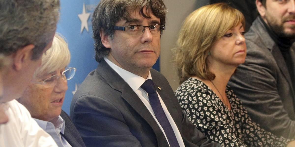 Puigdemont rechaza estar en Bélgica para pedir asilo