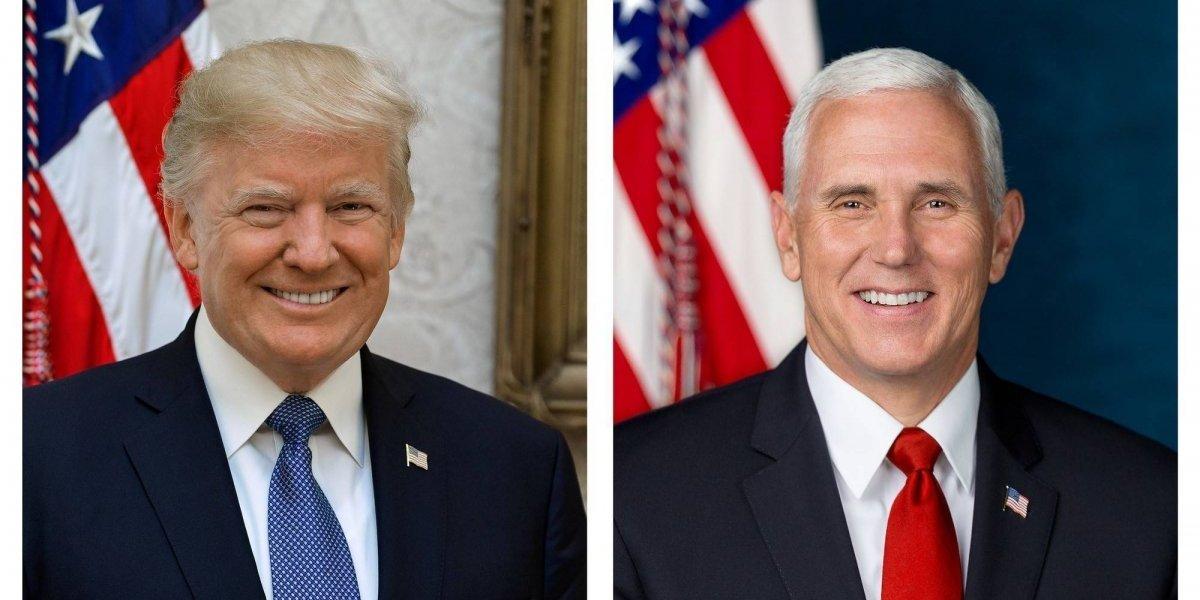Este es el retrato oficial de Donald Trump en la Casa Blanca