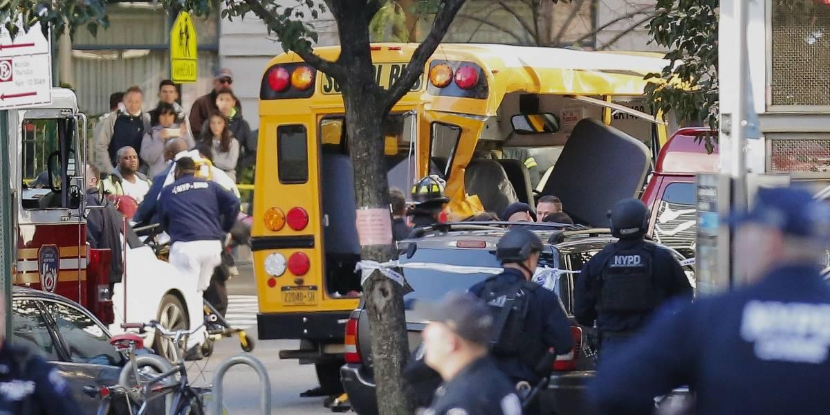 8 muertos y una docena de heridos por atentado terrorista en Nueva York