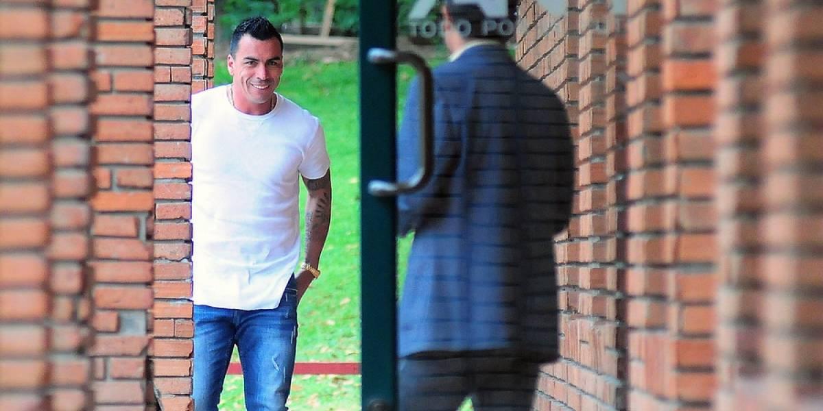 Esteban Paredes la saca barata y recibe dos fechas de castigo por su expulsión en Temuco