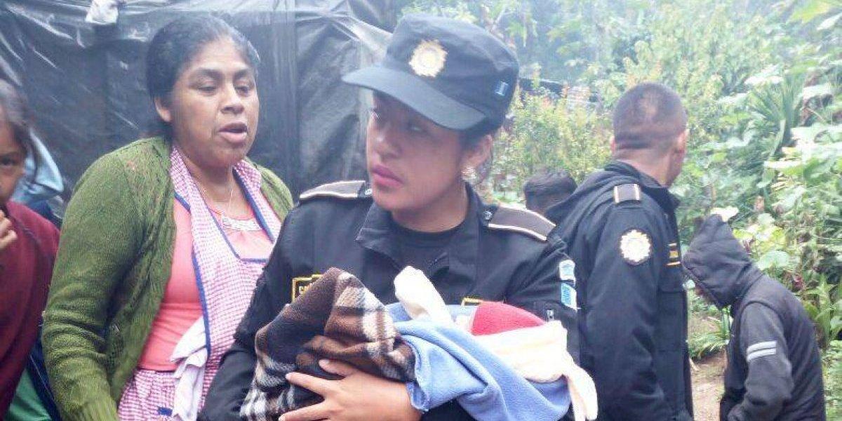 Abandonan a recién nacido en aldea de Jalapa