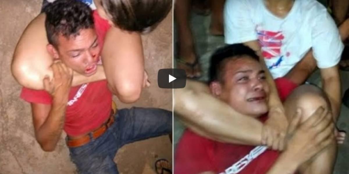 Video: Dos sujetos la iban a robar, pero ella era experta en artes marciales