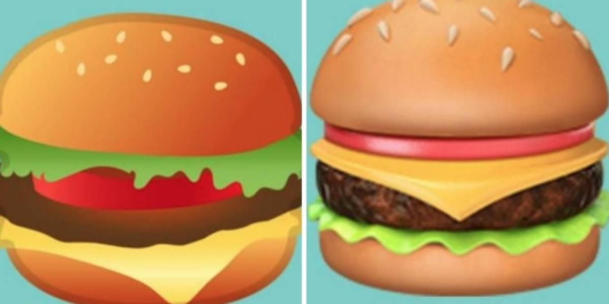 ¿El queso arriba o abajo?: La batalla por el emoji de hamburguesa que divide a las redes sociales
