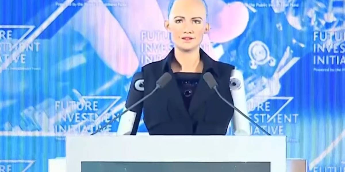 Sophia, la robot ciudadana de Arabia Saudita visitará en México